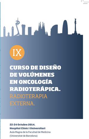 IX Curso de Diseño de Volúmenes en Oncología Radioterápica