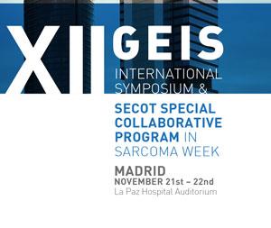 XII GEIS INTERNATIONAL SYMPOSIUM & SECOT SPECIAL COLLABORATIVE PROGRAM IN SARCOMA WEEK