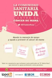La comunidad sanitaria unida contra el cáncer de mama